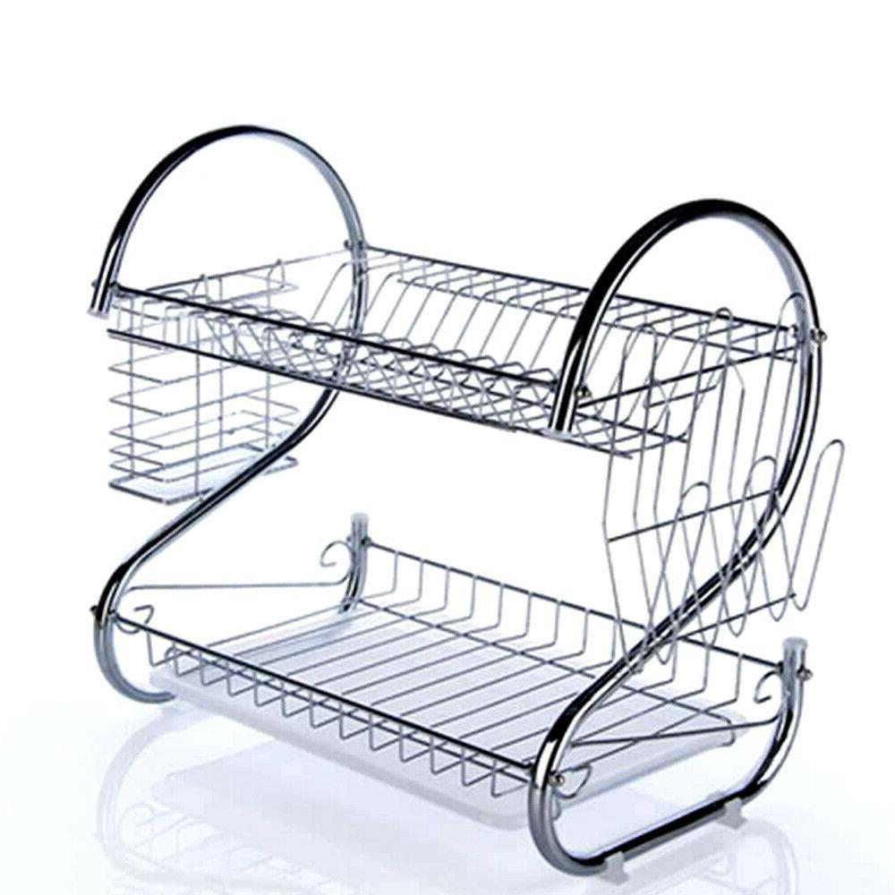dish cup drying rack drainer dryer tray