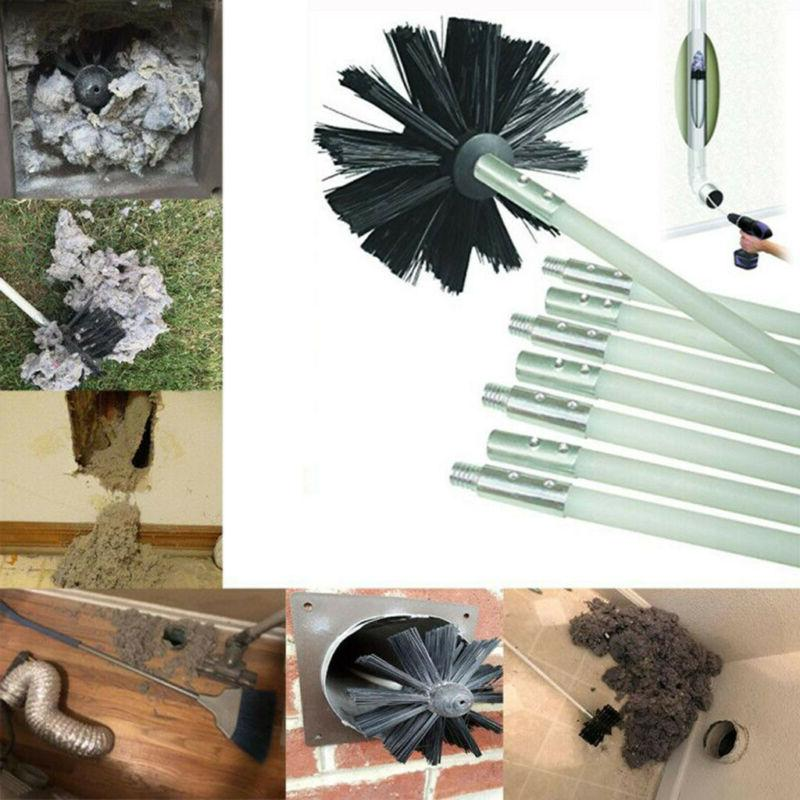 Dryer Duct Cleaning Kit Lint Remover Extends Up To 16 Feet S