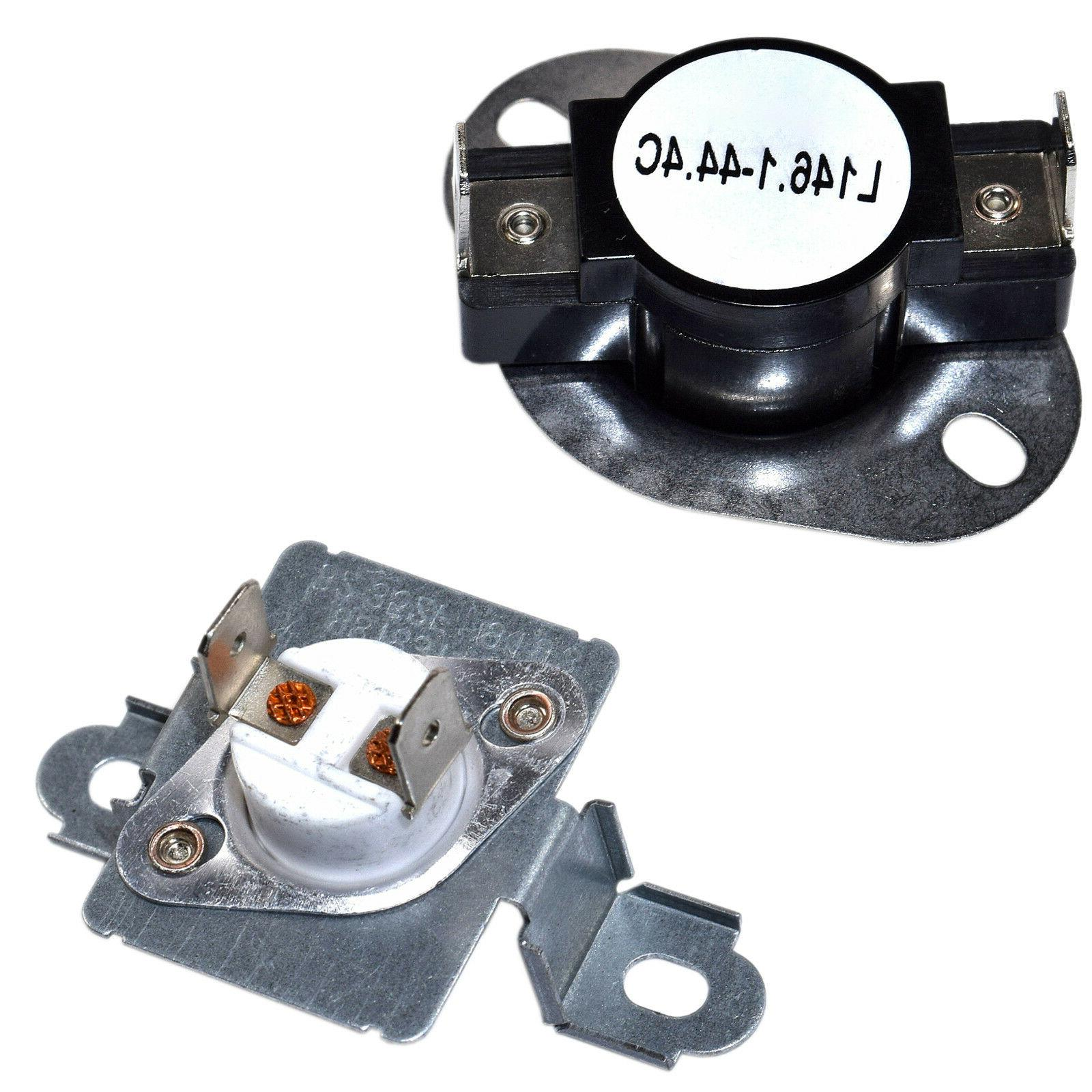 dryer thermostat and thermal fuse kit