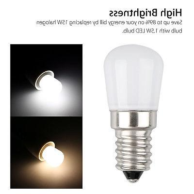 E14 LED SMD2835 Refrigerator Appliance Cool Warm White Lamp