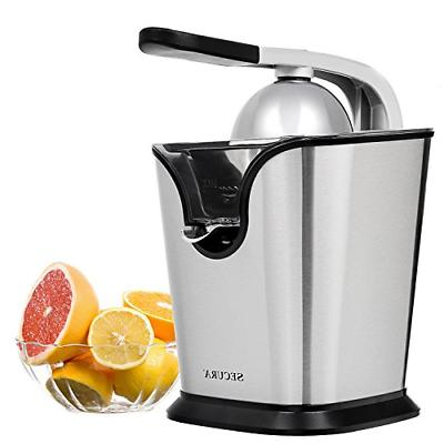 electric citrus juicer press stainless