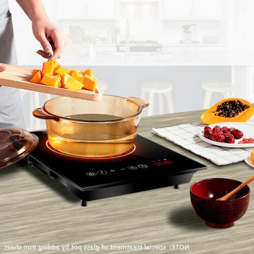 Electric Portable Cooktop Burner Temperature Control