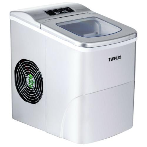 Electric Ice 26lbs/Day Compact Machine Countertop Silver