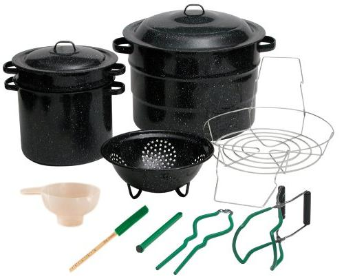 Granite Ware 0719-1 Enamel-on-Steel Canning Kit with Blanche