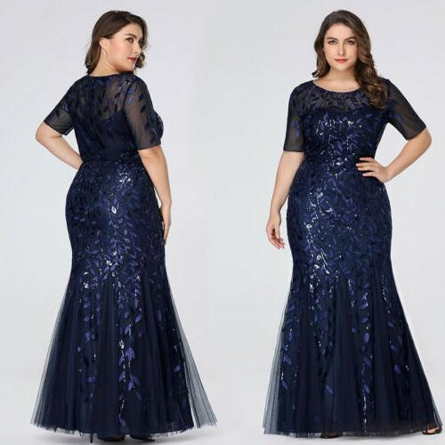 Ever-pretty Plus Women Short Gowns