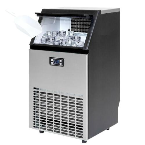 Built-in Stainless Restaurant Ice Cube Machine