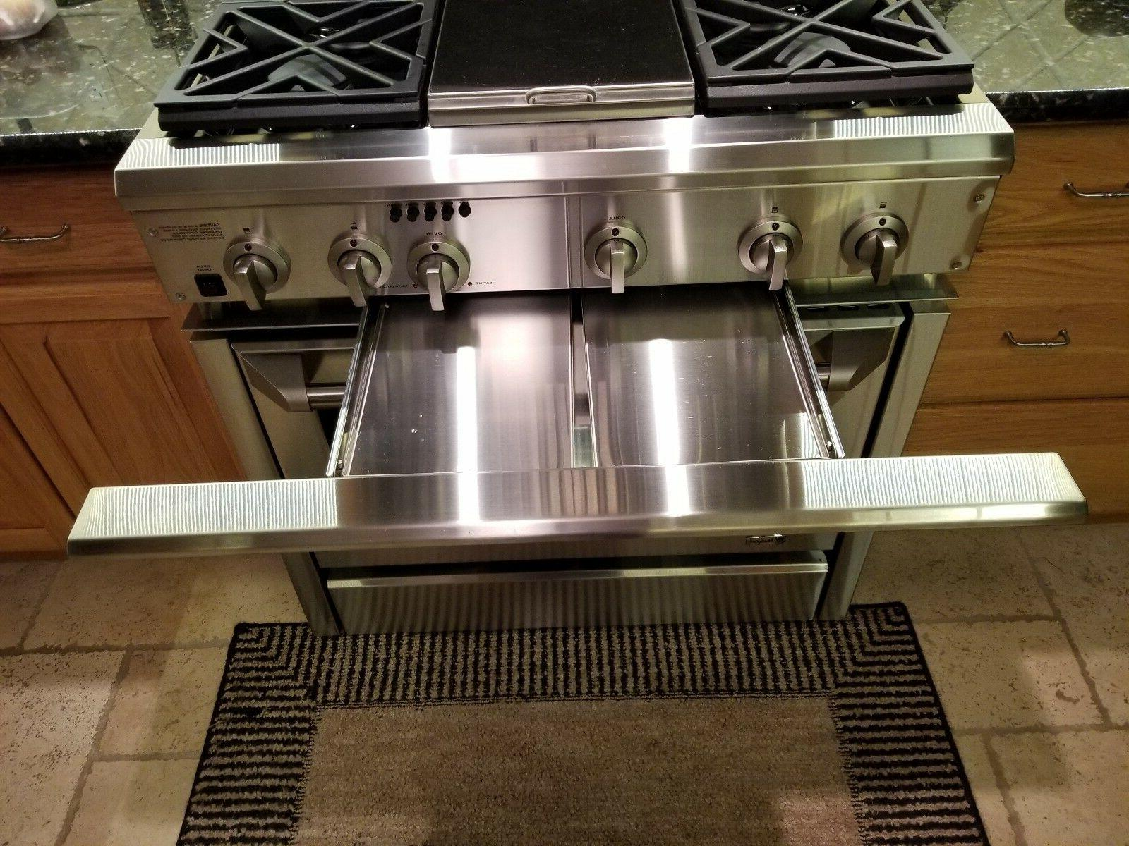 GE DUAL GRILL STAINLESS