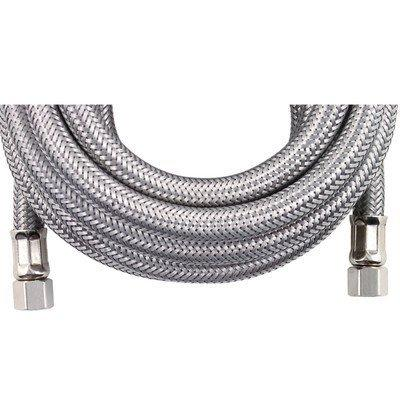 im120ss braided stainless steel ice maker connector