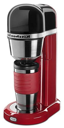 KitchenAid KCM0402ER Coffee Maker, Empire Red