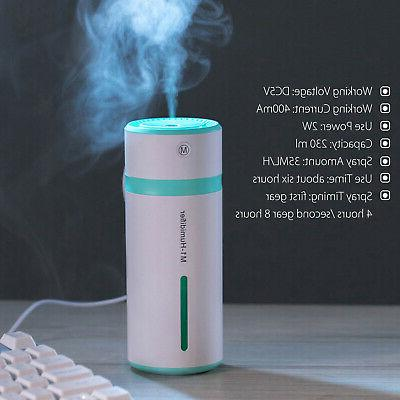 LED Humidifier Purifier Aroma Essential