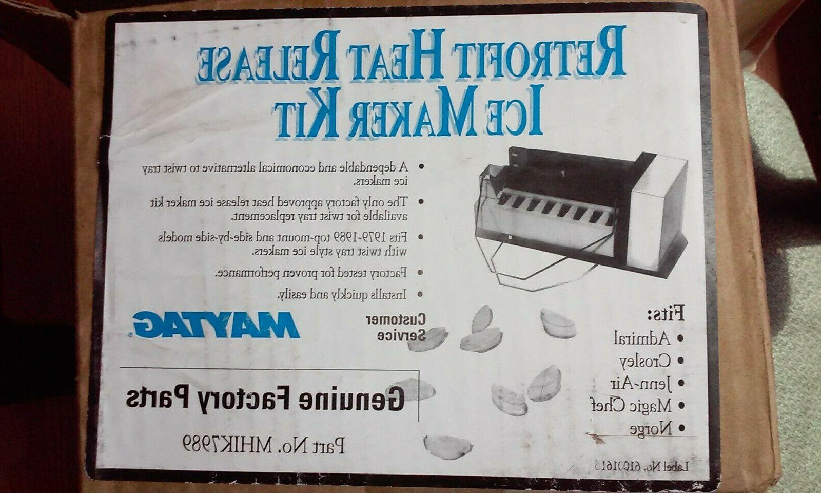 Maytag Admiral Refrigerator Replacement Icemaker