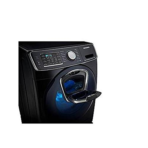 Samsung Capacity Front Load Innovative ELECTRIC Alluring Black
