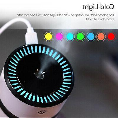 LED Humidifier Freshener Aroma Essential Oil