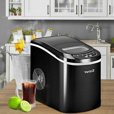 portable compact electric ice maker machine mini