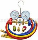 Refrigeration Air Conditioning A/C Diagnostic Manifold Gauge