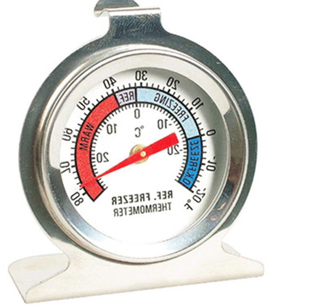 Refrigerator Thermometer DIAL Type Hang Stand NEW