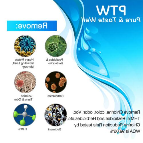 Compatible With GE SmartWater MWFP GWF Refrigerator Filter Pack