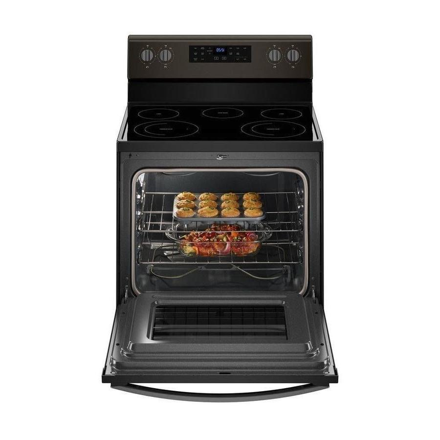 Frigidaire Surface freestanding 5-Electric range black Self-cleaning