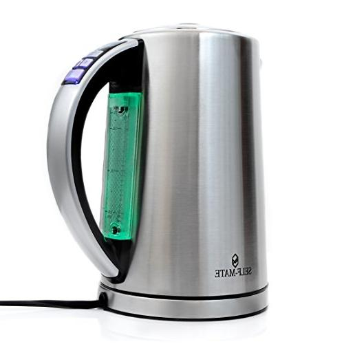 temperature control electric water kettle