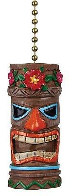 Clementine Designs Tiki Head Man Ceiling Fan Light Dimension