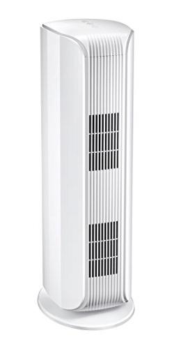 Midea 3-Speed Tower Air Purifier with True Hepa Filter-UV-C