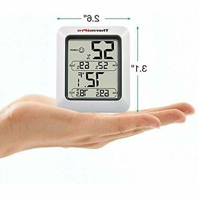TP50 Digital Hygrometer Indoor Thermometer Gauge With
