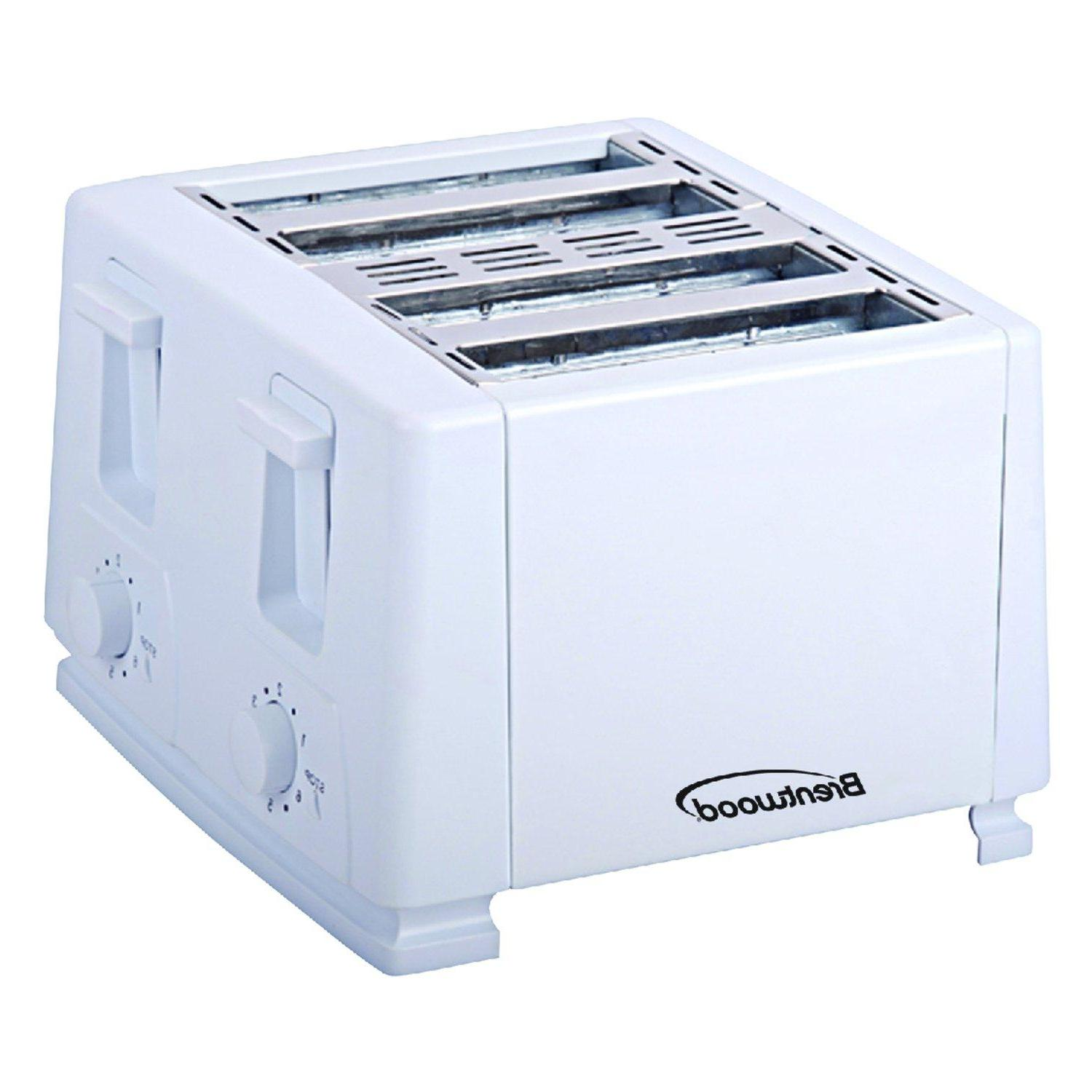 Brentwood TS-264 Toaster, White