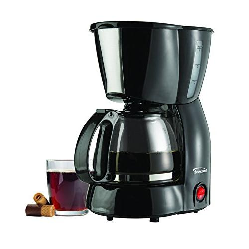 Brentwood TS-213BK Brentwood Coffee Maker, White