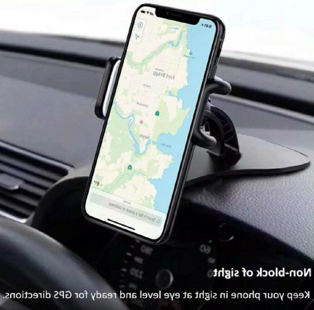 universal car dashboard phone clip holder mount