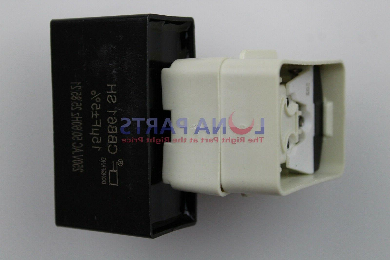 W10613606 Whirlpool Relay Overload Capacitor New