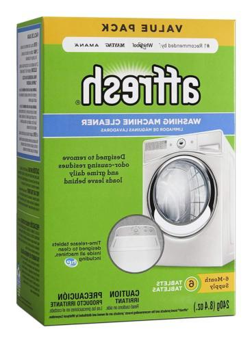 washer machine cleaner 6 tablets 8 4