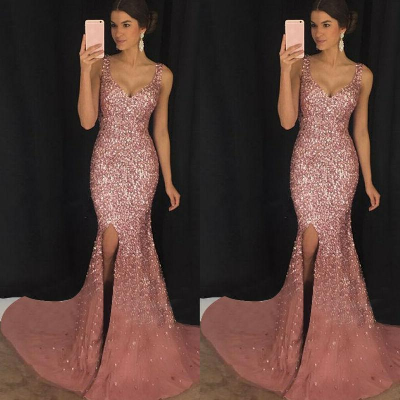 Womens Slim Fit Cocktail Gown