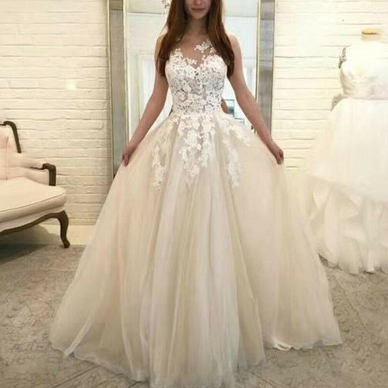 Womens Wedding Formal Gown Prom