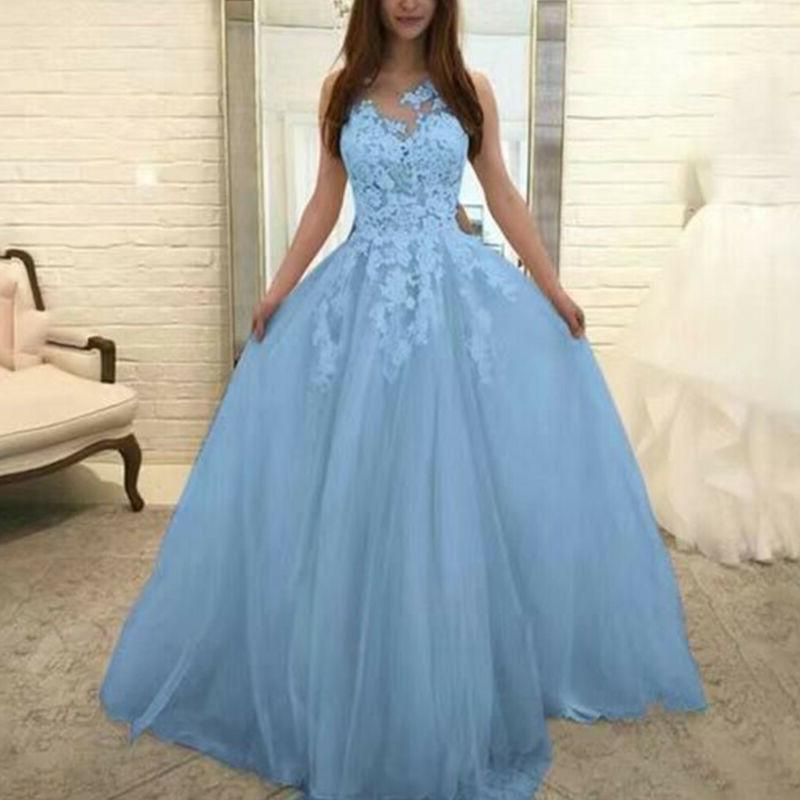 Womens Wedding Dresses Bridesmaid Party Gown