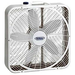 "Lasko 3 Speed Weather Shield Performance 20"" Box Fan w/ Easy"