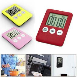 LCD Digital Timer Magnetic Kitchen Countdown Count Down 99 M