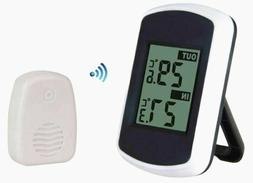 LCD Wireless Weather Station Indoor Outdoor Sensor Home Ther