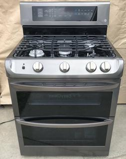 ldg4315bd 30 black stainless double oven gas