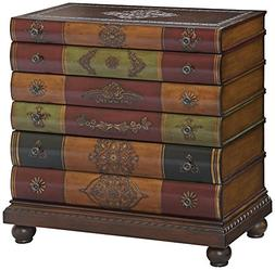 Crestview Wood Chests Library 6 Drawer Chest 32 X 32 X 16 In