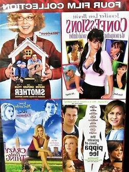 Love,Romance 4 films NEW 2 DVDS,Crazy Little Thing,Confessio