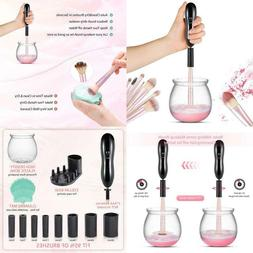 Makeup Brush Cleaner And Dryer, Larmhoi Electric Makeup Brus