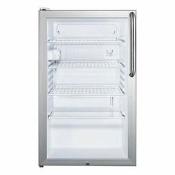 """Medical Counter-Height 20"""" ADA All-Refrigerator SCR450L7TBAD"""