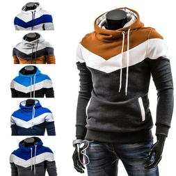 Men's Personality Casual Fashion Color-matching Hoody Hoodie