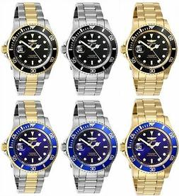 Invicta Men's Pro Diver Stainless Steel 40MM Watch- Choose C