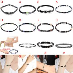 Multi-color Adjustable Weight Loss Round Black Stone Magneti