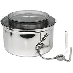 Stainless Steel Bowl Fits Bosch Universal, & Universal Plus