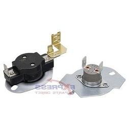 N197 Whirlpool, Kenmore Dryer Thermostat Kit Replaces 397776