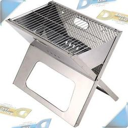 """NEW Brentwood Appliances 18"""" Portable Folding Charcoal BBQ G"""
