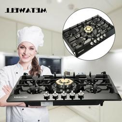 30 Inch Natural Gas/LPG Burner Style Cooktop With 5 Burners