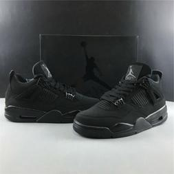 "NEW AIR JORDAN 4 RETRO ""BLACK CAT"" 2020 RELEASE CU1110-010"